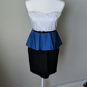 Mystic Sweetheart Peplum Dress